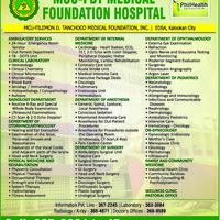 MCU-FDTMF HOSPITAL in Caloocan City, Metro Manila - Yellow